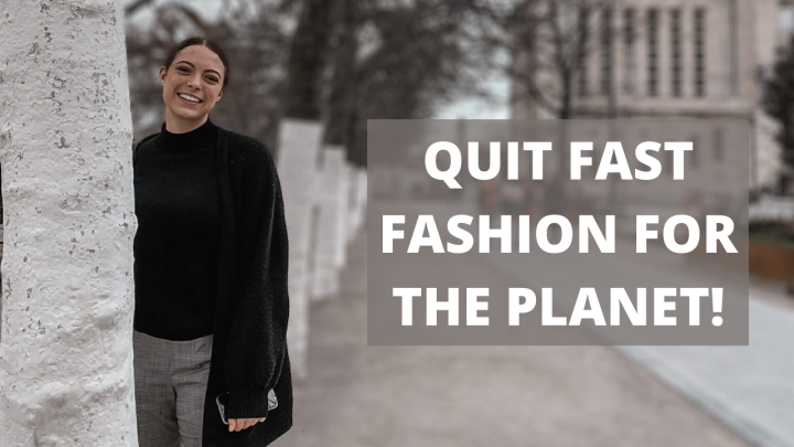 How to quit fast fashion