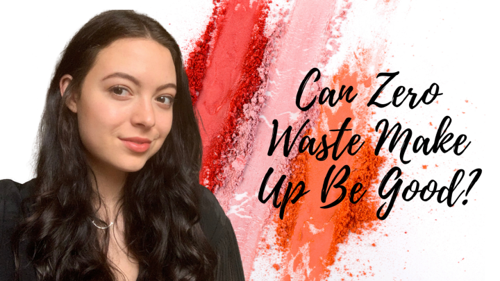 Trying Zero Waste Makeup – Dirty Hippie Cosmetics Review and Try On